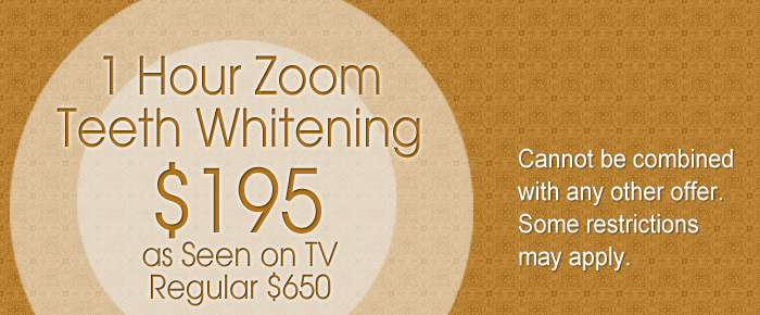 1 Hour Zoom Teeth Whitening Coupon